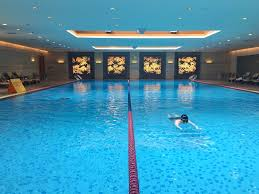 Inside Swimming Pool by Hotel Review Shangri La Hotel Chengdu Mum On The Move