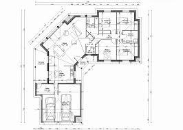 plain pied 4 chambres plan de maison en v plain pied 4 chambres plan de maison plain