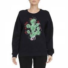 just cavalli sweatshirt sweater women spring summer 2017 blue