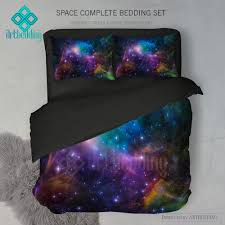 Duvet Cover Stars Galaxy Bedding Set Cosmos Duvet Cover Set Abstract Nebula In