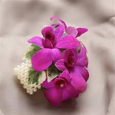 orchid wrist corsage purple dendrobium orchid wrist corsage fba flowers