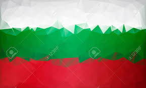 Green Red And White Flag Bulgarian Flag Low Poly White Green Red Flag Royalty Free