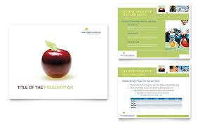 healthcare management powerpoint presentation template design