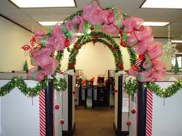 cubicle decorating ideas christmas trellischicago