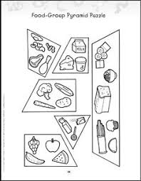 food pyramids worksheets pdf for first graders google search