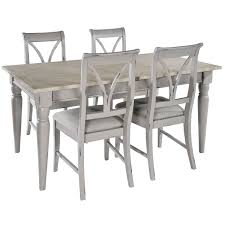 hutch castle grey painted extending dining table