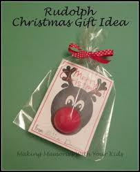 fun rudolph christmas gifts making memories with your kids