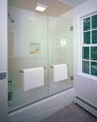 Bathtubs With Glass Shower Doors Looking Tub Enclosures In Bathroom Contemporary With Bathtub