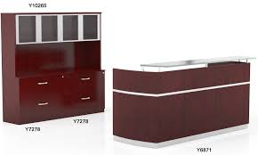 Reception Desk With Transaction Counter Collection In Napoli Reception Desk Reception Desk With Floating