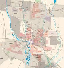 Denver Neighborhoods Map Columbus Neighborhoods Map Map Of Columbus Ohio Neighborhoods
