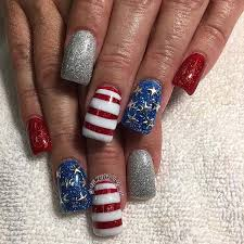 10 funky and fun 4th of july nail designs crazyforus