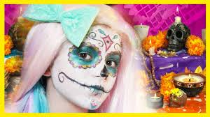 Sugar Skull Halloween Makeup Tutorial by Sugar Skull Makeup Tutorial Halloween Or Day Of The Dead
