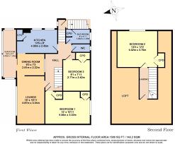 3 bedroom maisonette for sale in harefield gardens middleton on