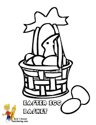 easter basket coloring pages getcoloringpages com