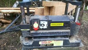 harbor freight u0027s central machinery table top thickness planer in