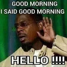 Goodmorning Meme - good morning hello good morning meme