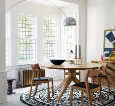shipping a table across country cross round dining table by matthew hilton case furniture