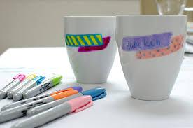 washi tape mug honeysuckle life