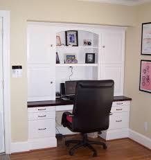 built in desk in kitchen ideas