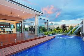 contemporary house plans with pool clipgoo swimming most alluring
