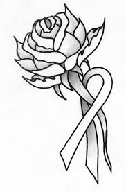 rose and ribbon tattoos pinterest pink ribbon tattoos
