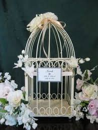 Shabby Chic Bird Cages by Shabby Chic Vintage Inspired Wedding Card Holder Bird Cage