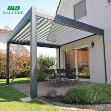 adjustable shade pergola outdoor goods