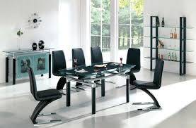 dining room 7 piece glass dining table sets rocket dining table