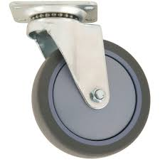Rubber Home Depot by Everbilt 5 In Swivel Non Marking Rubber Caster 4032545eb The