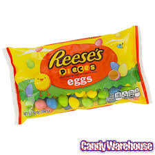 reese easter egg reese s pieces pastel easter eggs candy 12 ounce bag