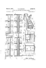 Railroad Apartment Floor Plan by Patent Us2783718 Railway Car Underframe Cross Bearer Assembly