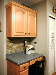 how to cut crown molding for kitchen cabinets kitchen cabinet crown molding how to install a crown molding to
