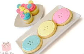 as a button baby shower decorations cookies for weddings birthdays bar mitzvahs and more pink