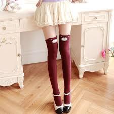 cute stockings 2016 japanese cute cartoon panda stockings fashion kawaii tight