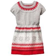 fair isle sweater dress toddler grey fair isle sweater dress by gymboree