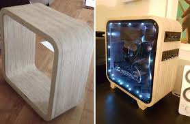Homemade Wooden Computer Desk by Building Wood Computer Desk Quick Woodworking Ideas