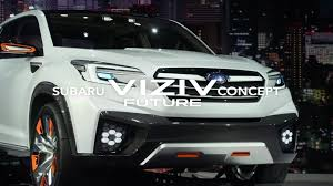 subaru viziv 2016 subaru viziv future concept the 44th tokyo motor show 2015 youtube
