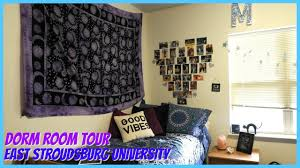 cute dorm room tour east stroudsburg university youtube