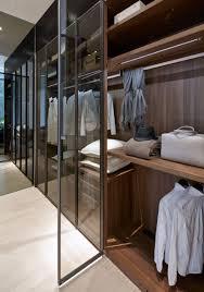 Closet Glass Door Scda Cluny Park Residence Singapore Beautiful Timber Wardrobe