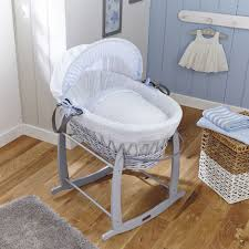 stars u0026 stripes grey wicker moses basket