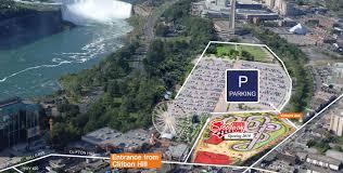 Niagara Falls Canada Map by Niagara Falls Parking Clifton Hill Niagara Falls Canada