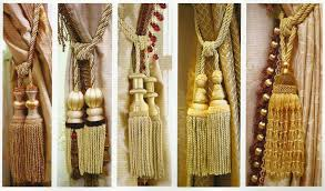 Large Drapery Tassels Fancy Curtain Tie Backs Tassels 37 For With Curtain Tie Backs