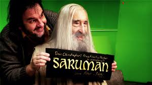 peter jackson celebrates sir christopher lee s last day of filming