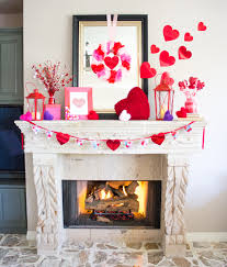 Romantic Bedroom Ideas For Valentines Day Ideas Most Romantic Mantel Of Fireplace In Valentine Day Ideas