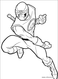 power ranger 09 power rangers printable coloring pages kids