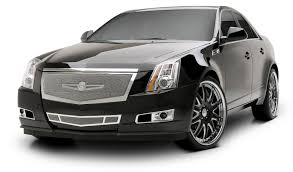 custom 2009 cadillac cts strut introduces custom cadillac cts grille collection