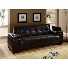 Convertible Sofa Sleeper Leather Sofa Bed With Storage Coaster Faux Leather Convertible