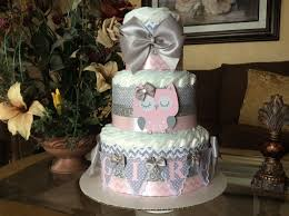 owl diaper cake owl baby shower centerpiece grey and pink