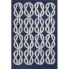 Navy And White Outdoor Rug Coastal Living Indoor Outdoor Area Rug Roped In Navy Blue