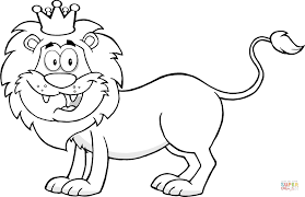 happy lion king coloring free printable coloring pages